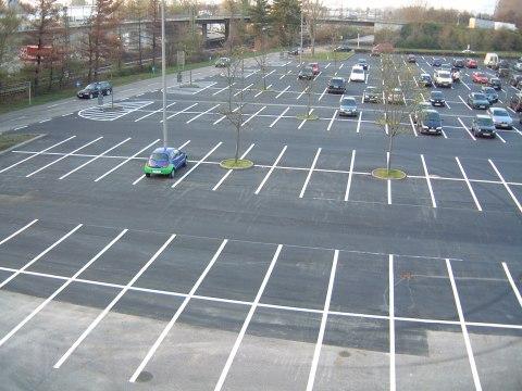 Parkplatzmarkierungen